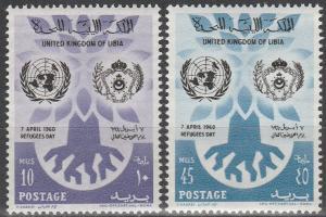 Libya #187-8  MNH F-VF  (V224)