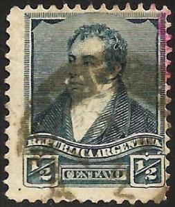 Argentina 1896 Scott# 106 Used