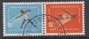 Papua New Guinea Sc#171-172 Used Pair