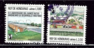Honduras C729-30 Used 1983 set    (ap2733)