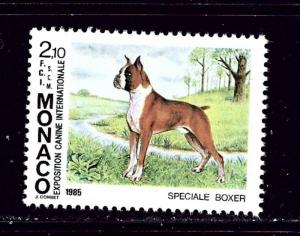 Monaco 1479 MNH 1985 Dogs