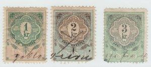 Austria Cinderella Revenue Fiscal stamp 9-19-21 as seen- 4j