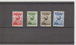 Netherlands  Scott#  B82-5  Used  (1935 Child Welfare)