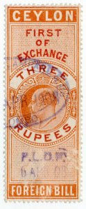 (I.B) Ceylon Revenue : Foreign Bill 3R (First)