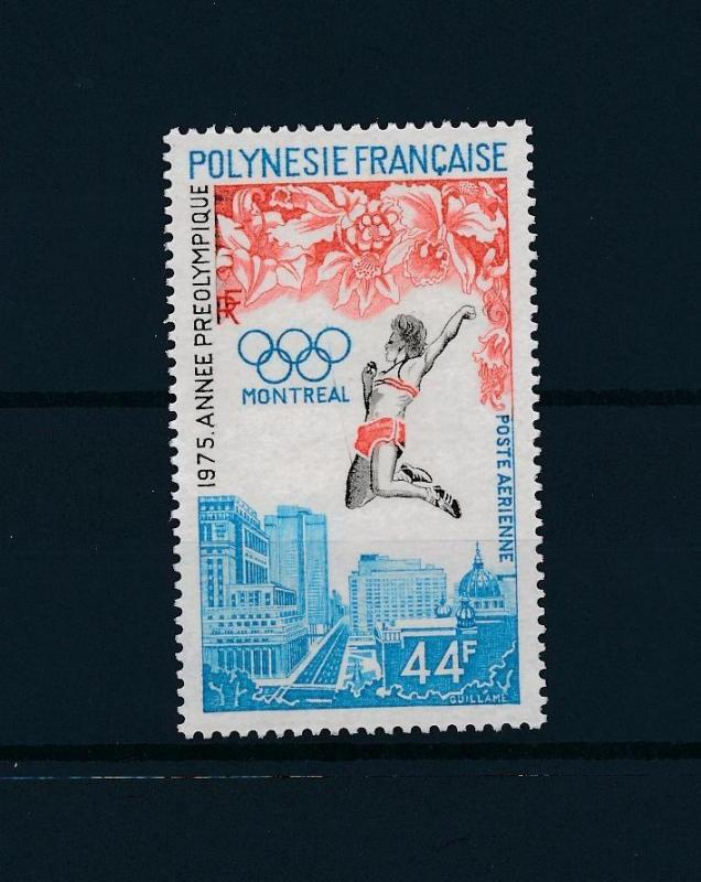 [56353] French Polynesia 1975 Olympic games Athletics MNH