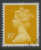 Great Britain SG X989 Sc# MH154    Used with first day cancel - Machin 35p