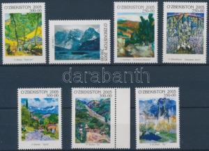 Uzbekistan stamp Paintings set MNH 2006 Mi 585-591 WS150867