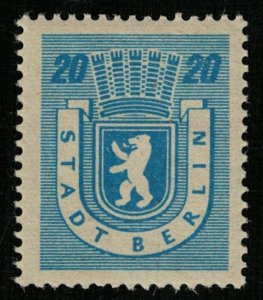 STADT BERLIN, 20 Pfg., MNH, ** (Т-8299)