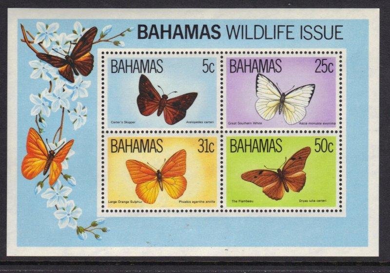 Bahamas SC# 542a Souvenir Sheet MNH