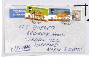 CE175 Kenya *NAIROBI* 1972 KUT Stamp Air Mail Cover