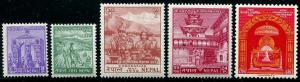 HERRICKSTAMP NEPAL Sc.# 84-88 Coronation Mint NH Stamps Cat. Value $180.00