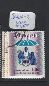 MALAYA  MALAYSIA   (P3007BB)   SG 100-2   VFU