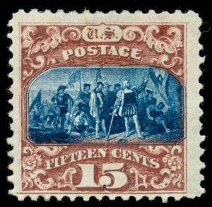 momen: US Stamps #119 Mint OG VF WEISS Cert
