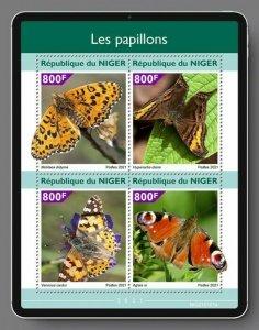 Stamps of NIGER 2021- BUTTERFLIES