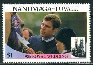 Tuvalu Nanumaga; 1986: Sc. # 72b: **/MNH Single Stamp