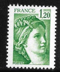France Scott #1664  VF - Mint Never Hinged (NH)