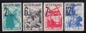 Netherlands B54 - B57 set VF-OG-NH cv $ 190 ! see pic !