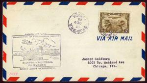 CANADA 1929 Saint John N.B. to Montreal P.Q. FFC