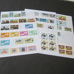 Anguilla modern sets 65 stamps All MNH - offer
