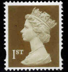 Great Britain Scott MH300 machin stamp syncopated