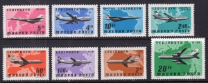 Hungary C377-C385 Airplanes MNH VF