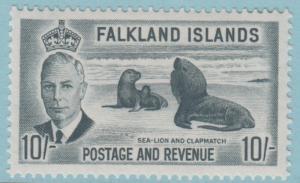 Falkland Islands 119 Mint Hinged OG * - No faults Extra Fine!