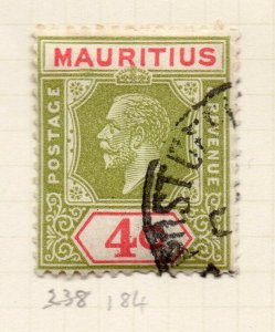 Mauritius 1926-34 Early Issue Fine Used 4c. NW-90933