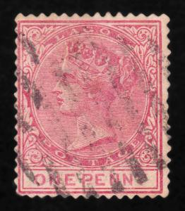 Lagos Sc#15 SG#18 QV Valuable Vintage Stamp USED