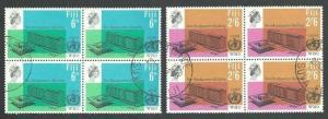 FIJI 1966 World Health set blocks of 4 fine used...........................64776