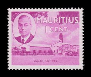 BRITISH MAURITIUS STAMP. YEAR 1950. SCOTT # 235. UNUSED