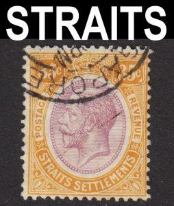 Malaya Straits Settlements Scott 196 wtmk 4 F+ used.