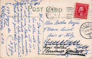 United States New Jersey Weehawken 1915 machine  1867-1925  2c Washington Fra...