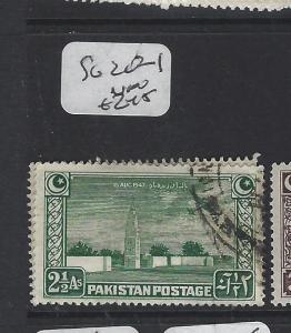 PAKISTAN (P2404B) SG 20-1   VFU