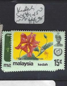 MALAYA  KEDAH  (PP0502B)  ORCHIDS SG 149-150   MNH