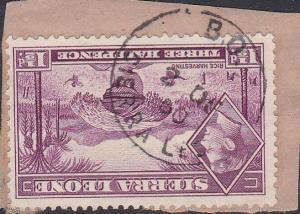 SIERRA LEONE GVI 1½d - 1950 BO cds.........................................87599