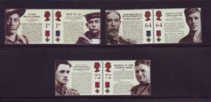 Great Britain Sc 2394-99 2006 Victoria Cross stamp set mint NH