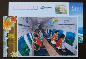 Sea turtle,fish,Sightseeing submarine,CN 12 hainan island holiday paradise PSC