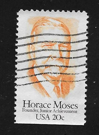 SC# 2095 - (20c) - Horace Moses, used