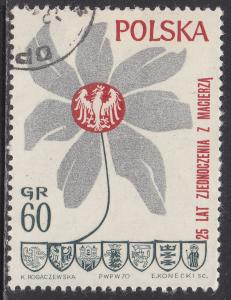 Poland 1737 CTO 1970 25th Anniv of the Oder-Neisse Border Area