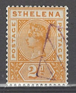 COLLECTION LOT # 3040 SAINT HELENA #43 PRECANCEL 1896 CV=$14.50