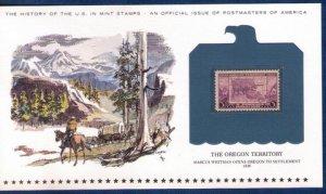 US Sc 783 MNH,Og Encapsulated On A Commemorative Postal History Card F-VF