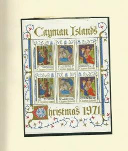 CAYMAN ISLANDS 1971 SCOTT 296A MNH