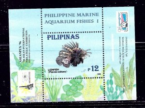 Philippines 2404a MNH 1996 Fish S/S    (ap2018)