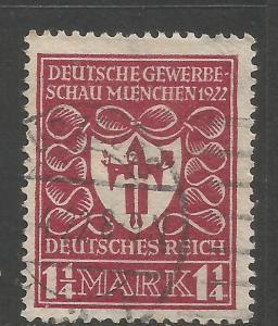GERMANY 212 VFU E552-3