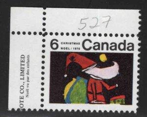 Canada Scott 527 MNH** Christmas stamp
