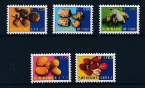 [SU1118] Suriname Surinam 2001 Tropical fruit  MNH