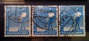 Germany Allied Occupation Mi 950 Shades