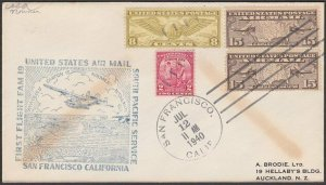 USA 1940 first flight cover San Francisco to New Caledonia..................Q493