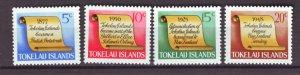 J22371 Jlstamps 1969 tokelau set mh #16-19 designs