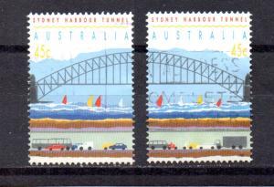 Australia 1296a-1296b used (A)